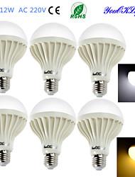 economico -E26/E27 Lampadine globo LED B 18 leds SMD 5630 Decorativo Bianco caldo Luce fredda 900lm 3000/6400K AC 220-240V