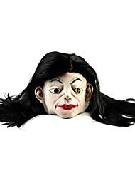 Недорогие -длинные волосы белое лицо призрака резины маска для косплея / Хеллоуин костюм партии