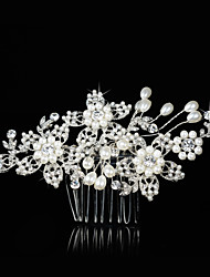 Alloy Hair Peppers Headpiece Wedding Party elegante estilo feminino
