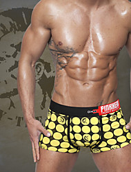 cheap -Men's Super Sexy Boxer Briefs - Print, Polka Dot 1 Piece