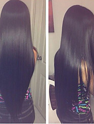 cheap -20inch Lace Front Hair Wigs Mongolian Remy Hair Silk Straight Hair Wigs Celebrity Style Women Wigs