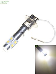 cheap -H3 PK22S 35W 7 x CREE LED White 6000K Car Headlight Bulb Fog Light Headlight Lamp AC/DC 9-30V