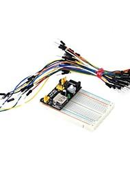 Недорогие -400-луночного модуль мини + блок питания макетная + 65 прыжок провода комплект для поделок / Arduino