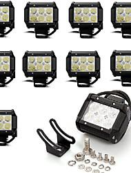 Недорогие -Для кроссовера / Для автоматического транспортера / Для трактора Лампы 18W Epistar 1620LM Рабочее освещение Назначение