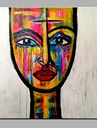 Dipinta a mano RitrattiModern Un Pannello Tela Hang-Dipinto ad olio For Decorazioni per la casa