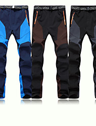 Sports Ski Wear Pants/Trousers/Overtrousers Men's Winter Wear Polyester / Fleece Fashion / Classic Winter ClothingWaterproof / Breathable