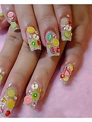 Недорогие -Фрукты / Цветы / Милый - Стразы для ногтей - 1000pcs - 0.5 - Прочее - Пальцы рук