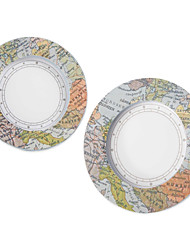 "cheap -""Travel the World"" mini world map photo frame, place card holder wedding decoration, Party décor"