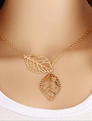 Недорогие -ретро sen металлический красочный лист ожерелье классический женский стиль