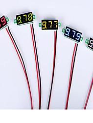 Недорогие -0,28 дюйма 2.5В-30v мини-тестер цифровой измеритель напряжения вольтметр