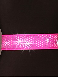 cheap -Latin Dance Belt Women's Training Performance Polyester Paillette Belt