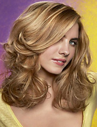 Capless Blonde Long High Quality Natural Straight Synthetic Wigs