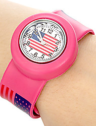 baratos -Relógio de Pulso Plastic Banda Doce / Fashion Verde / Rosa / Amarelo