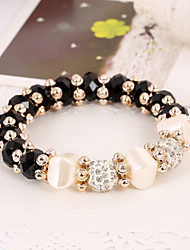 cheap -Women's Persona Beads Collection Bracelet Agate Crystal / Rhinestone