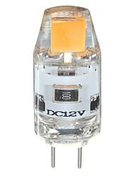 preiswerte -G4 LED Doppel-Pin Leuchten T 1 Leds COB 150lm Warmes Weiß Kühles Weiß 6000-6500K (Pure white), 3200-3500K (Warm White)K Abblendbar DC 12