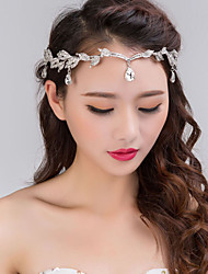 cheap -Alloy Headbands Headpiece Wedding Party Elegant Feminine Style