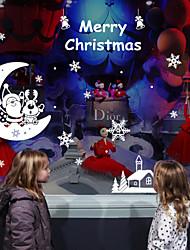 Pejzaž Božić Odmor Zid Naljepnice Zidne naljepnice Dekorativne zidne naljepnice, Vinil Početna Dekoracija Zid preslikača Zid