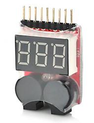preiswerte -2-in-1 1 ~ 8s Lipo Akku Niederspannungssummerwarnung für rc Hubschrauber