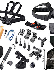 Clip Screw Floating Buoy Suction Cup Straps Hand Grips/Finger Grooves Monopod Mount / Holder 147-Action Camera,Gopro 5 Gopro 4 Gopro 4