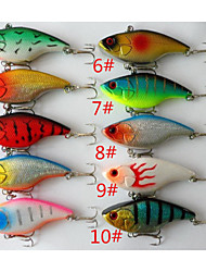 cheap -Anmuka  10Color Fishing Sinking VIB Lure Vibration Rattle Hook Crankbait Baits 18g  7.5cm  Free Shipping