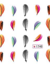 1 Sticker Manucure  Bijoux pour ongles Adorable Punk Mariage Maquillage cosmétique Manucure Design