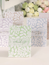 Side Fold Wedding Invitations 1-Thank You Cards Greeting Cards Pearl Paper