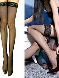 cheap -Women's New Fashion Mesh Stretchy thin transparence Stockings