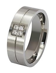 Široké prsteny Ocel Módní Barva obrazovky Šperky Párty 1ks