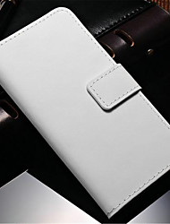 cheap -Genuine Leather Wallet Case for Samsung Galaxy Note 4 N9100 Galaxy Note Series Cases / Covers