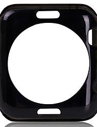 levne -módní TPU měkký zadní kryt případě chránič a tvrzené sklo obrazovky pro iWatch 38mm / 42mm