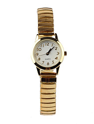 cheap -Simple Elastic Belt Gold Women's Watch Cool Watches Unique Watches