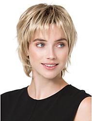 Недорогие -повелительницы блондинка цвет короткие прямые синтетические парики