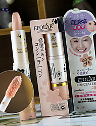 3 Concealer/Contour Dry Wet Cream Concealer Dark Circle Treatment Anti-Acne Freckle Anti-wrinkle Face Eyes Lips Others