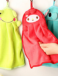 Fresh Style Wash Cloth,Solid Superior Quality 100% Coral Fleece Towel
