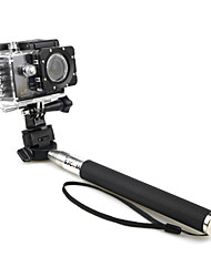 Telescopic Pole Monopod For Action Camera SJCAM SkyDiving Boating Rock Climbing Travel Ski/Snowboarding
