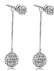 povoljno -Žene Sitne naušnice Plastika Umjetno drago kamenje Jewelry Vjenčanje Party Dnevno Nakit odjeće