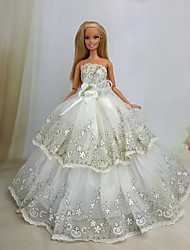 cheap -Party/Evening Dresses For Barbie Doll Dresses For Girl's Doll Toy