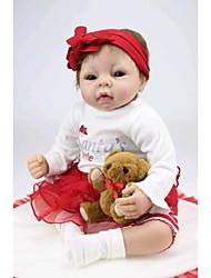 """povoljno -NPK DOLL Autentične bebe Beba 22"""" Silikon Vinil novorođenče vjeran Sladak Ručno Izrađen Sigurno za djecu Lijep Non Toxic Poklon"""