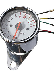 cheap -Universal Motorcycle Mechanica 13000RPM Tachometer Gauge