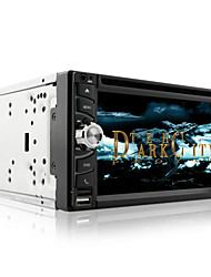 baratos -DVD Player Automotivo - 2 Din - 800 x 480 - 6,5 Polegadas