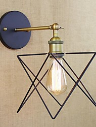 cheap -American Bedroom Adornment Wall Lamp, Wrought Iron Stair Lamp Corridor, Corridor Process