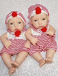 baratos -boneca reborn npkdoll difícil silicone 11inch 28 centímetros brinquedo impermeável menino e menina vermelho-branco