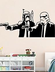 Desenho Animado / Romance / Vida Imóvel / Militar / Moda / Feriado / Formas / Vintage / Pessoas / Fantasia / Lazer Wall Stickers