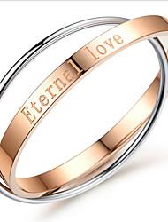 preiswerte -Damen Armbänder Runde Armreifen 18K vergoldet Ohne Stein