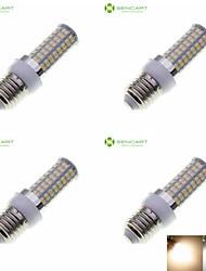 E14 G9 GU10 B22 E26 E26/E27 LED a pannocchia Modifica per attacco al soffitto 72 leds SMD 5630 Impermeabile Decorativo Bianco caldo Luce