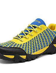 povoljno -Muškarci Cipele Umjetna koža Til Proljeće Jesen Udobne cipele Planinarenje žuta Sive boje Plava