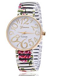 cheap -Xu™ Women's Wrist Watch Quartz Casual Watch Alloy Band Analog Charm Fashion Black / White / Green - Black Green Pink
