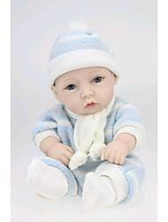 npkdoll возрождается ребенка кукла жесткий силикон 11inch 28см водонепроницаемая игрушка свитер мальчика