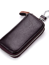 cheap -Unisex Bags Cowhide Key Holder for Event/Party Casual Sports Formal Outdoor All Seasons Coffee Brown Red Light Blue Royal Blue