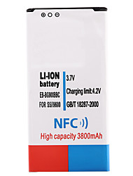 cheap -3.7V 3800mAh Li-ion Battery with NFC for Samsung S5 i9600 Power Banks